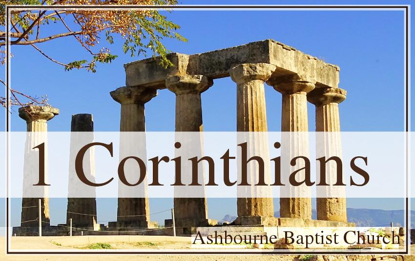 1 Corinthians Sermon Series Cover