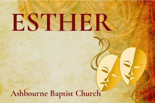 Esther Sermon Series Cover