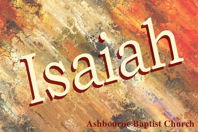 Isaiah Sermon Series Cover