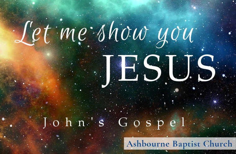 Let Me Show You Jesus Sermon Series Cover