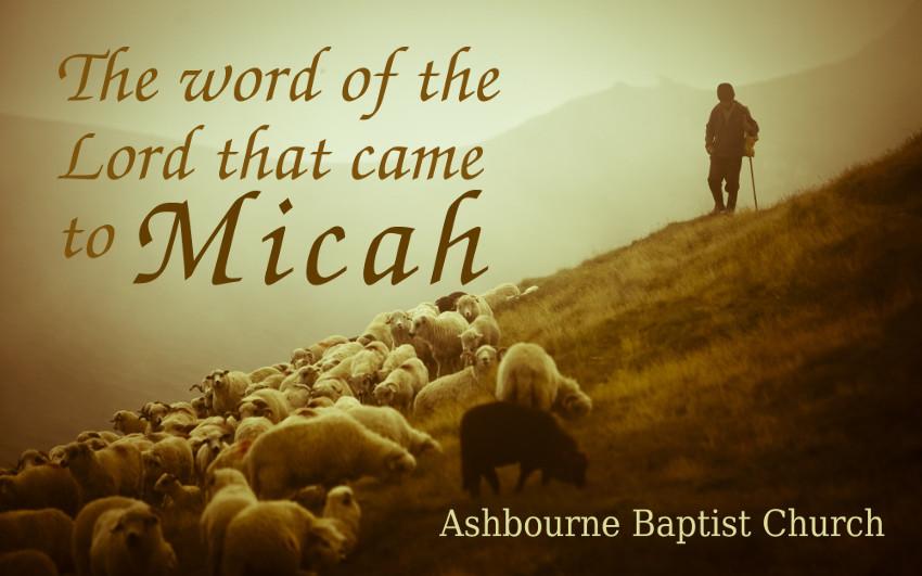 Micah Sermon Series Cover