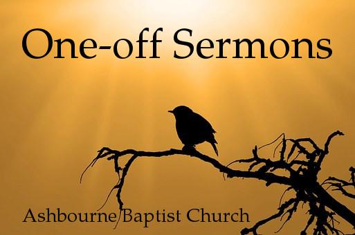 One-Off Sermon Series Cover