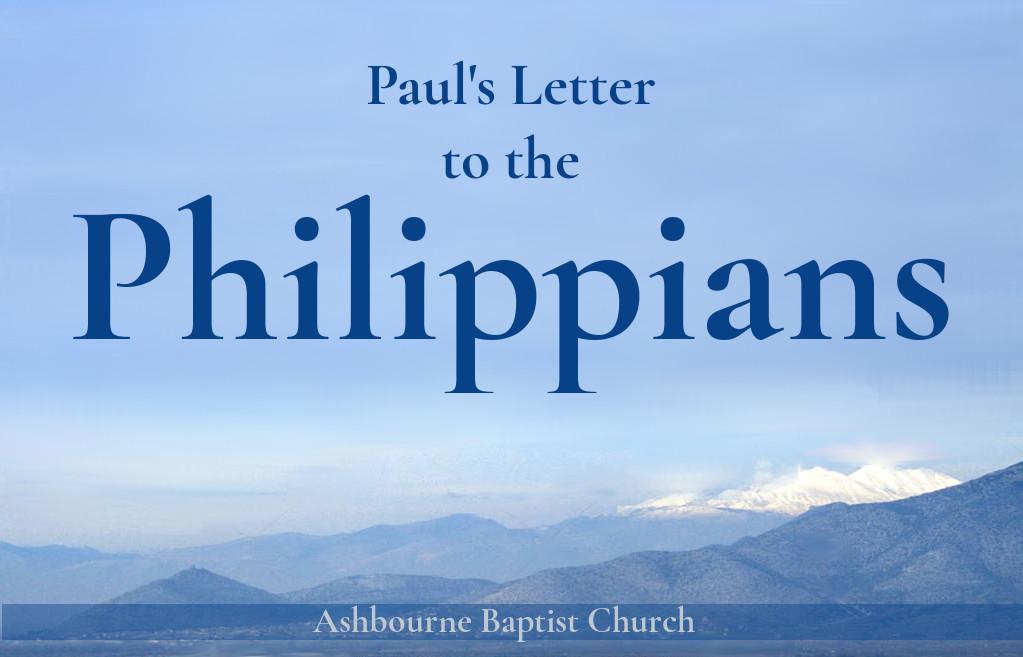 Philippians Sermon Series Cover