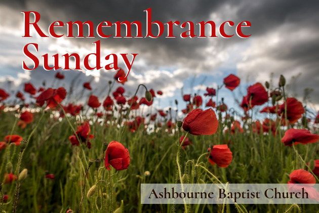 Remembrance Sunday Sermon Series Cover
