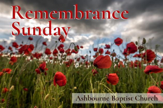 Remembrance Sunday Sermon Series Cover